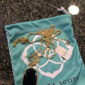 Kendra Scott Navy Blue Rae Necklace